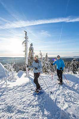 Wintersport im Fichtelgebirge