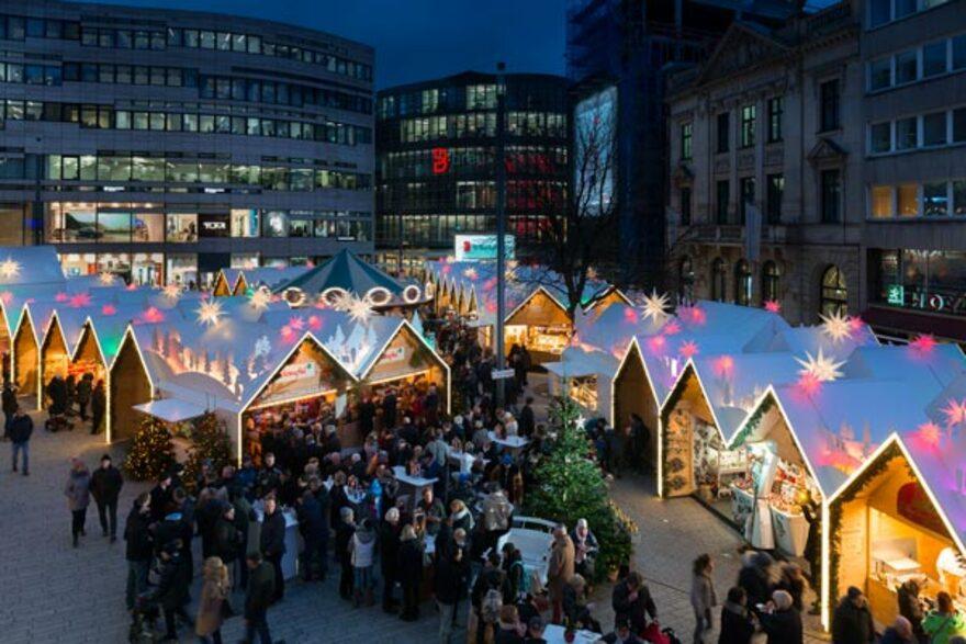 Düsseldorf Weihnachtsmarkt 2021