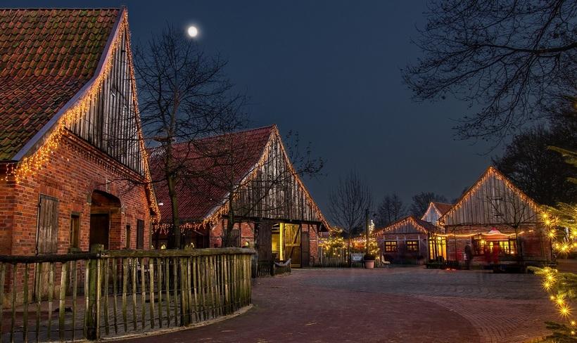weihnachtsmarkt tierpark nordhorn 2019