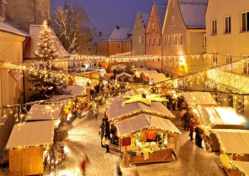 Schongau Weihnachtsmarkt.Weihnachtsmarkt Kaufbeuren Weihnachtsmärkte In Bayern