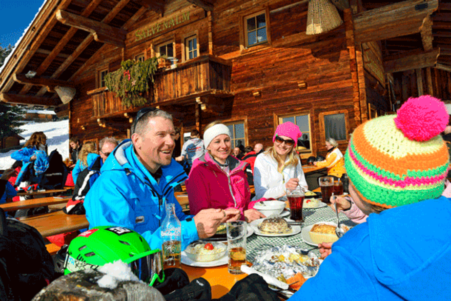Winterurlaub in der Ferienregion Hohe Salve in Tirol
