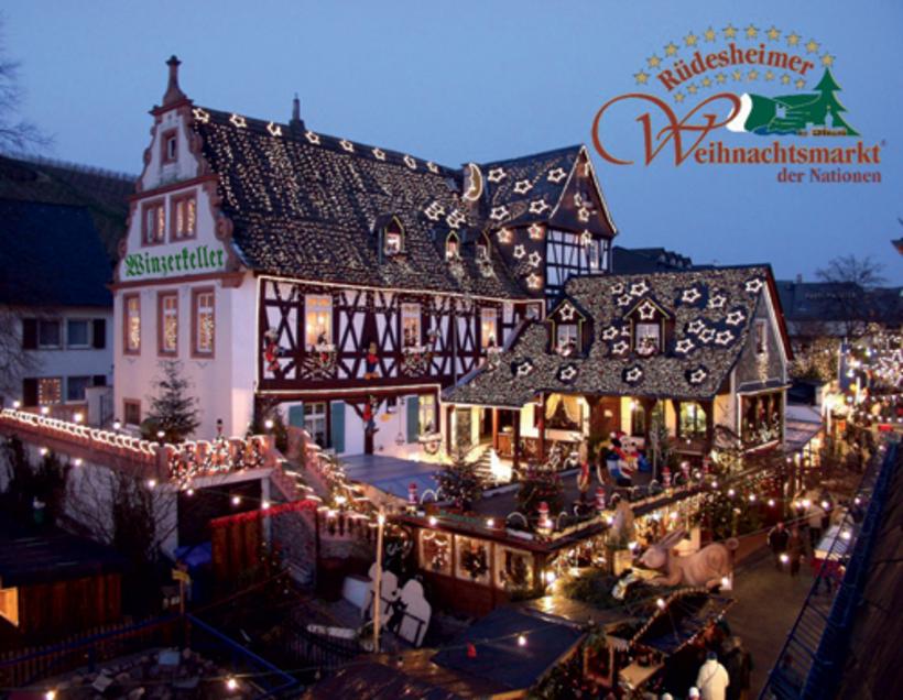 Dagobertshausen Weihnachtsmarkt.26 Weihnachtsmarkt Der Nationen Rüdesheim Weihnachtsmärkte In Hessen