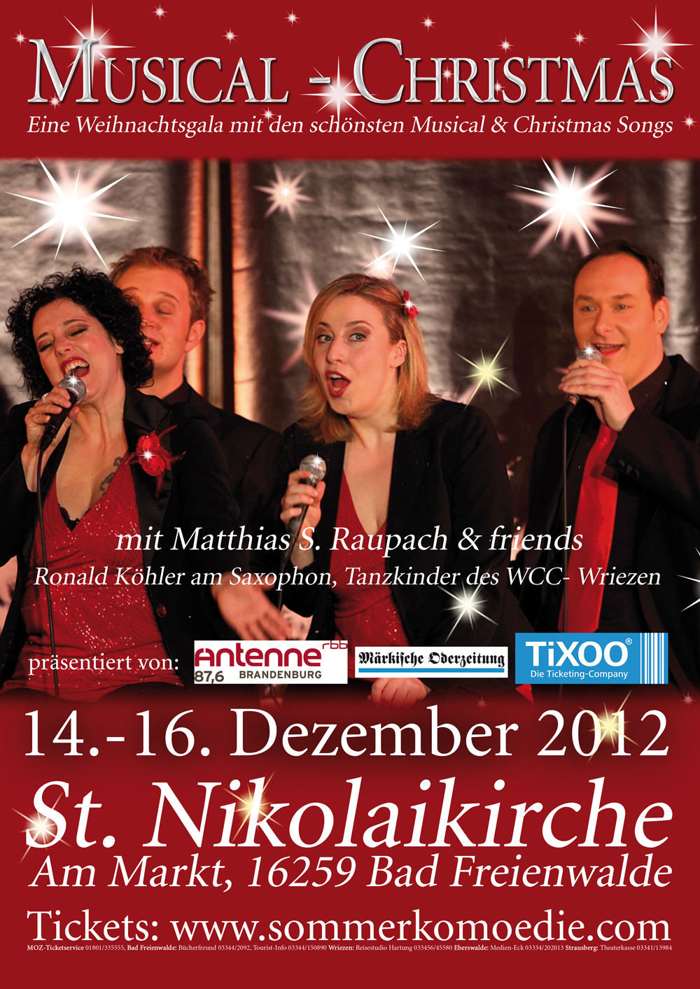 Musical-Christmas 2012 in Bad Freienwalde