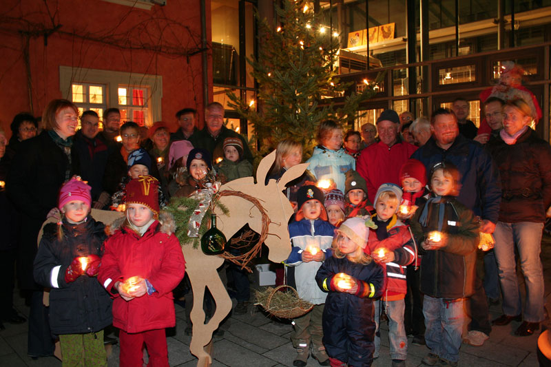 Weihnacht in Iphofen. Foto: © Tourist Information Iphofen/ Richard Schober