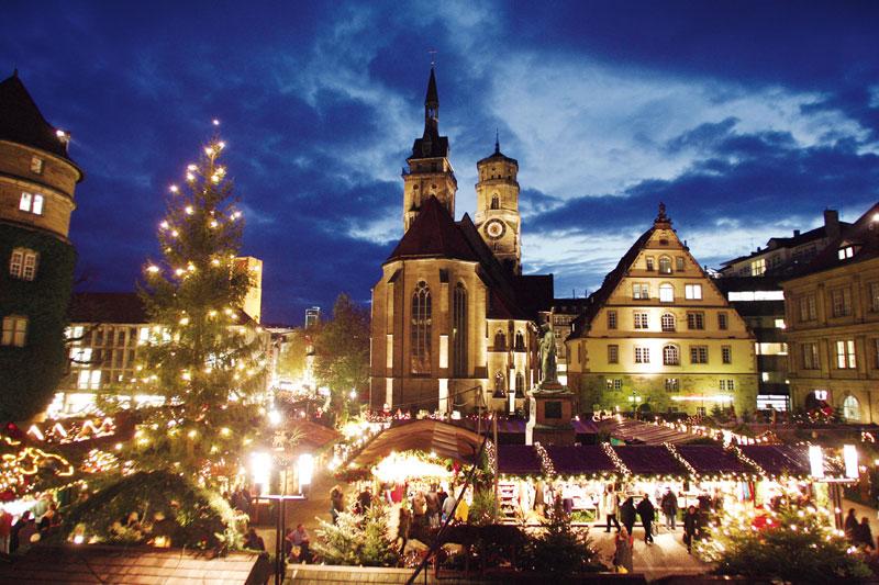 Dezember-Touren durch Stuttgart