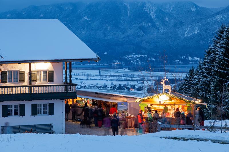 Lichterglanz und Budenzauber - Weihnachtsmärkte im Blauen Land