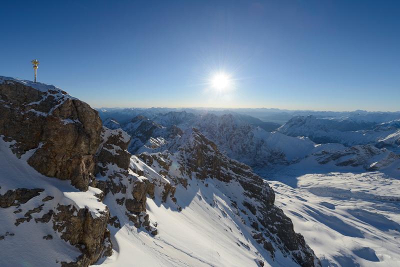 Schneeschuhwandern in der Zugspitz-Region