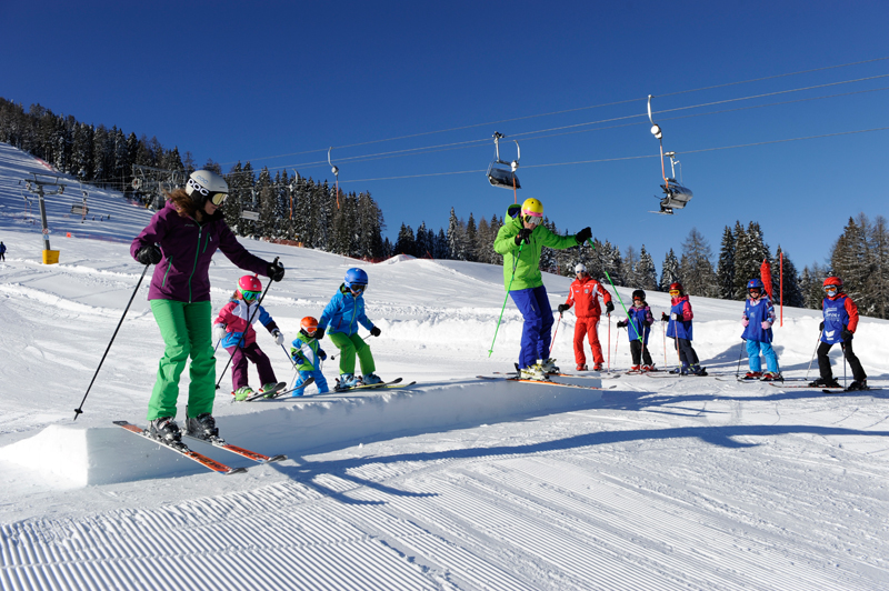 Im neuen Family Fun Park Carezza Ski, Laurin Moser