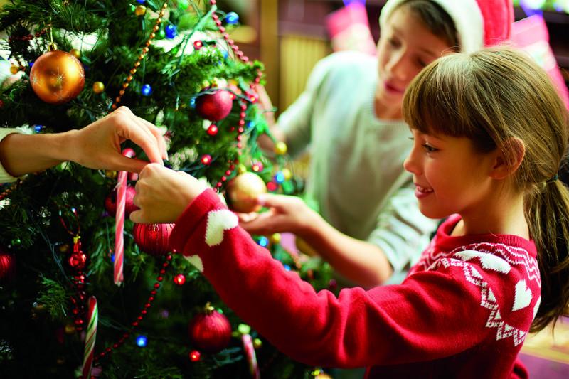 Tannenbaum und Palmenwedel - Weihnachten an der Ostsee