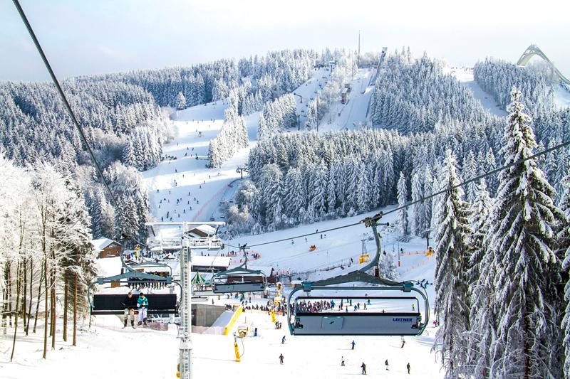 Skiliftkarussell bei Liftanzahl unter den weltweit führenden Skigebieten